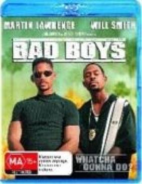 Bad Boys - Blu-ray cover
