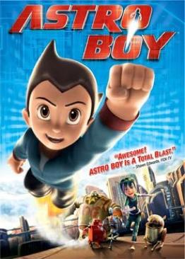 Astro Boy - DVD cover