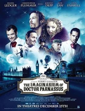 The Imaginarium of Doctor Parnassus - Betamax cover