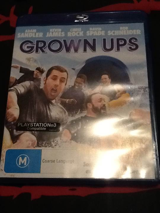 Grown Ups - DVD cover