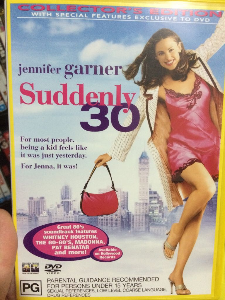 Suddenly 30 -  cover
