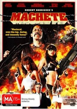 Machete - DVD cover