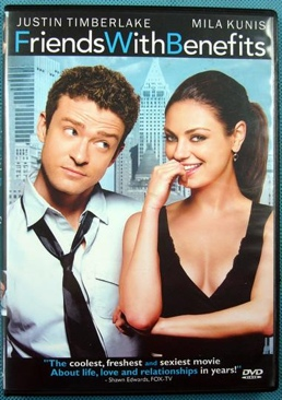 Friends With Benefits - DVD cover