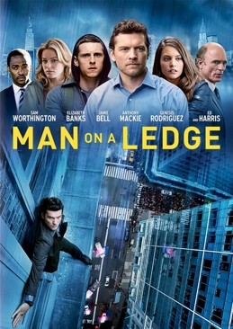 Man on a Ledge - DVD cover