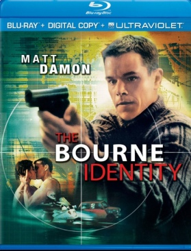 The Bourne Identity - Blu-ray cover