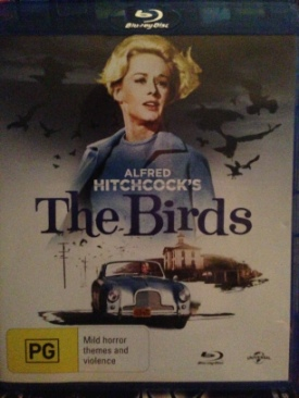 The Birds - Blu-ray cover