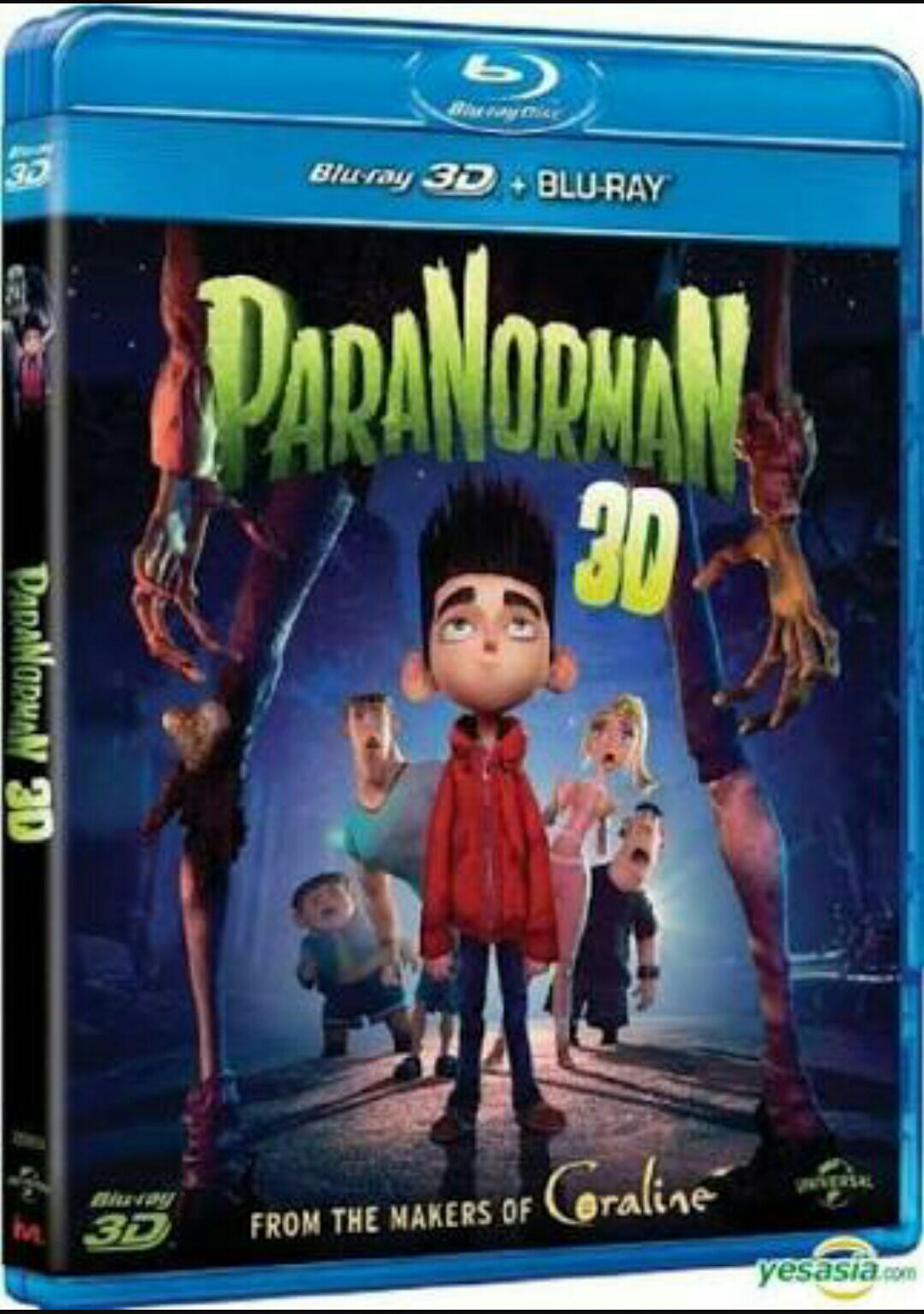 ParaNorman 3D -  cover