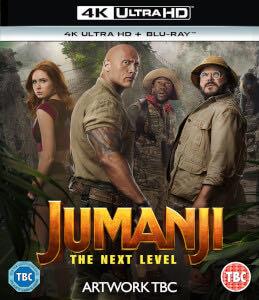 Jumanji 3: The Next Level -  cover