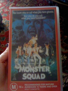 The Monster Squad - VHS cover