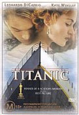 Titanic - Blu-ray cover