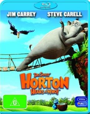 Horton Hears a Who! - Blu-ray cover
