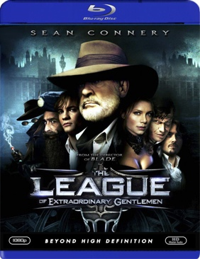 The League of Extraordinary Gentlemen - Blu-ray cover