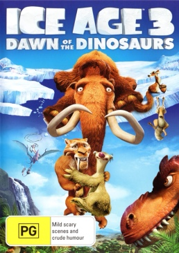 Disney : Ice Age 3: Dawn Of The Dinosaurs - DVD cover