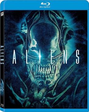 Aliens - Blu-ray cover