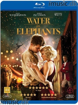 Water For Elephants - Blu-ray cover