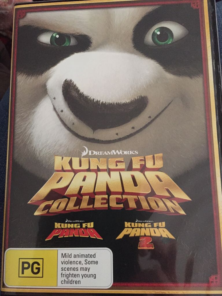 Kung Fu Panda 1 & 2 -  cover