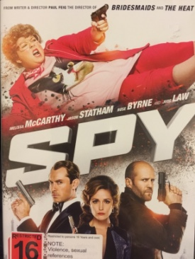 Spy - DVD cover