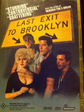 Last Exit To Brooklyn - DVD cover