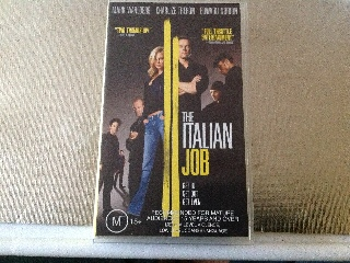 The Italian Job - VHS cover