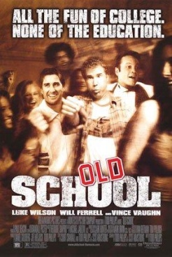 Old School - Blu-ray cover