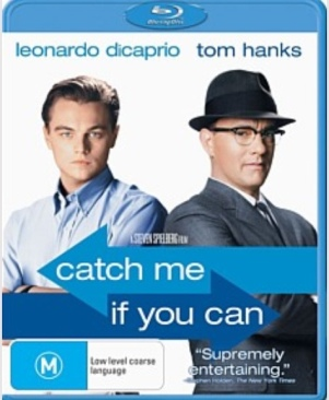 Catch Me If You Can - Blu-ray cover