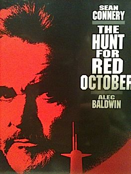 The Hunt for Red October - DVD cover