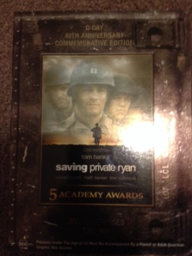 SAVING PRIVATE RYAN - DVD cover