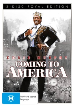 Coming to America - DVD cover