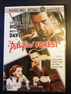 The Petrified Forest - DVD cover
