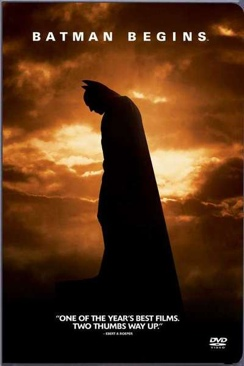 Collection Set : Triology Batman Begins (movie 1) - DVD cover