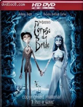 Corpse Bride - HD DVD cover