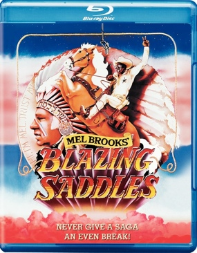Blazing Saddles - Blu-ray cover
