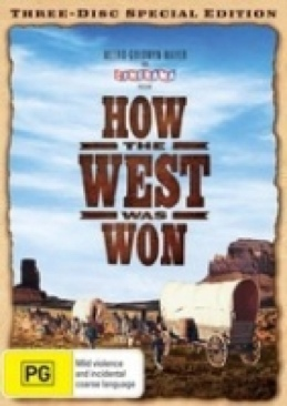 Cinerama: How the West Was Won - DVD cover