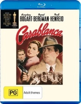 Casablanca - Blu-ray cover