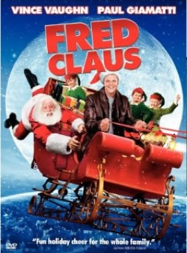 Fred Claus - Blu-ray cover