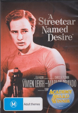 A Streetcar Named Desire;  TCM - DVD cover