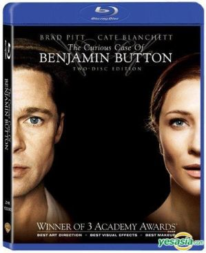The Curious Case Of Benjamin Button - Blu-ray cover