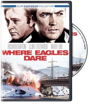 Where Eagles Dare - Blu-ray cover