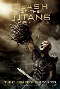 Clash of the Titans - DVD cover