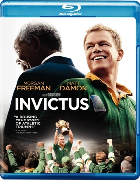 Invictus - Blu-ray cover