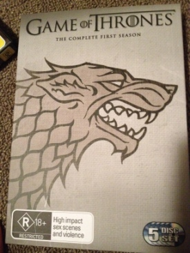 Game Of Thrones - DVD cover