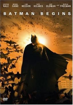 Batman 5, Begins - DVD cover