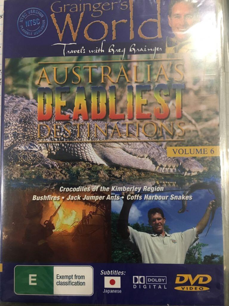 Australia's Deadliest Destinations  -  cover