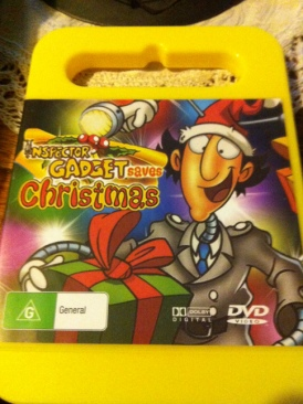 Inspector Gadget Saves Christmas - DVD cover