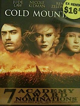 Cold Mountain - CED cover