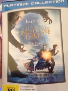 Lemony Snickets A Series of Unfortunate Events - DVD cover