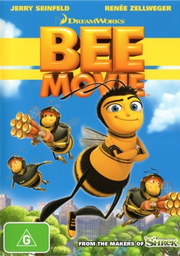 Bee Movie - DVD cover