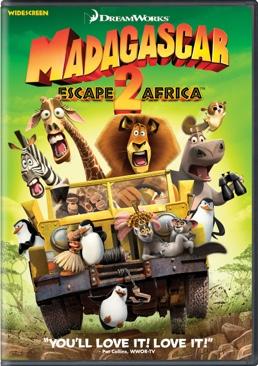 Madagascar: Escape 2 Africa - UMD cover