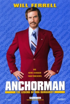 Anchorman: The Legend of Ron Burgundy - Blu-ray cover