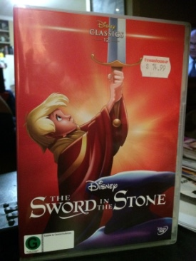 The Sword in the Stone - DVD cover